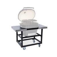 Металлический стол-тележка со столешницами для Primo Oval 400 XL и 300 FAMILY