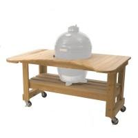 Стол из лиственницы для Primo Oval 200 JUNIOR